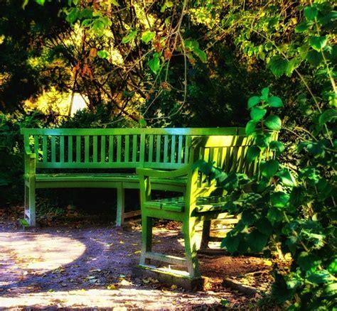 green outdoor bench garden benches 15 creative idea to relax in style