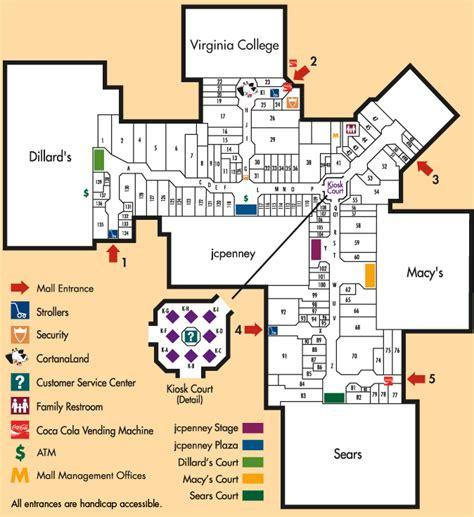 mall of louisiana inside map cortana mall interior baton louisiana