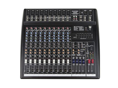 Mixer Audio 16 Channel monoprice 615816 16 channel audio mixer with dsp usb ebay