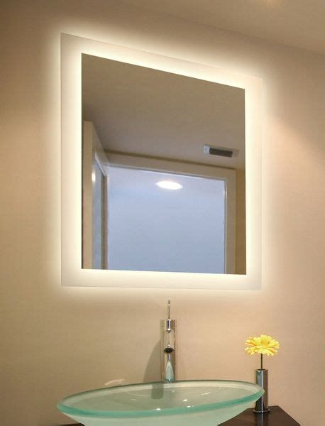 led backlit bathroom mirror 9 best led mirrors images on pinterest led mirror frame mirrors and illuminated mirrors