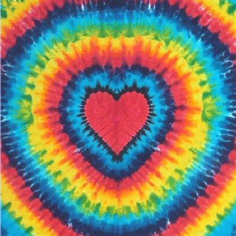 heart pattern tie dye tie dye rainbow heart tapestry by dyed in vermont