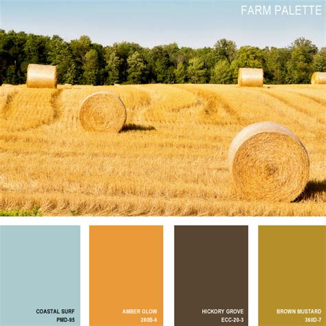 color farm 11 beautiful color palettes inspired by nature