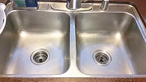 Clean Stainless Steel Sink With Hydrogen Peroxide Baking How To Clean Kitchen Sink With Baking Soda
