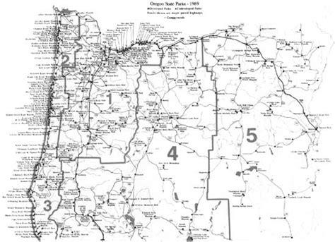 oregon state map pdf oregon s highway park system 1921 1989 an