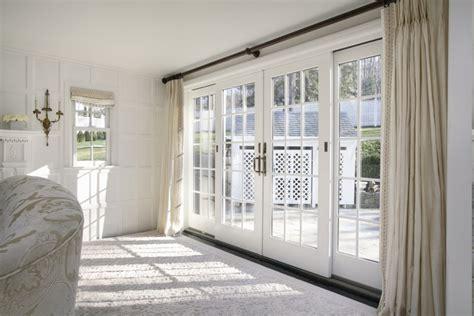 Efficiency Kitchen Ideas fabulous sliding french doors also elegant white rug
