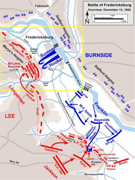 battle of fredericksburg ambrose burnside general joseph