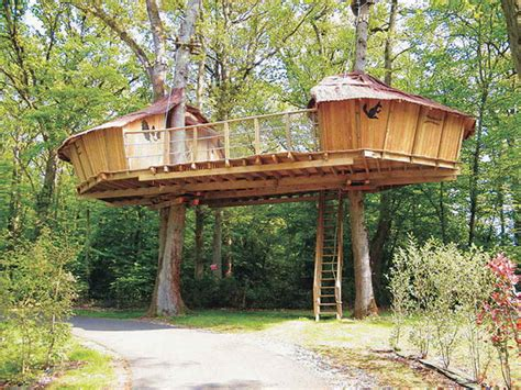 Awesome Tree House Plan 4 Tree House Design Plans Smalltowndjs Com