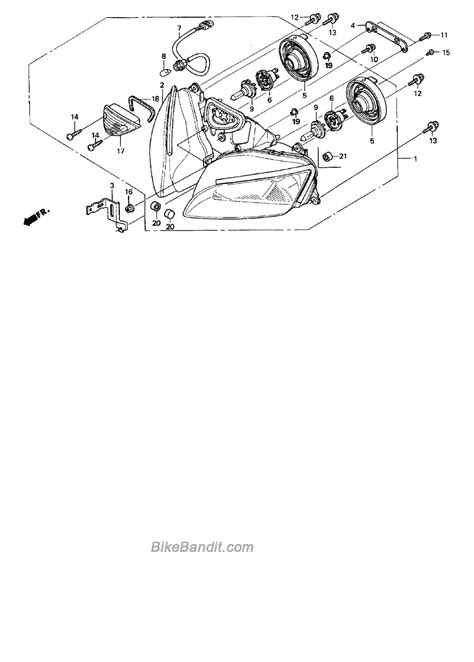honda cbr parts honda cbr 600 parts diagram wiring diagram with description
