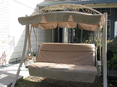 patio swing costco costco patio swing most popular swing every sold replacement canopy and cushion cover mocha