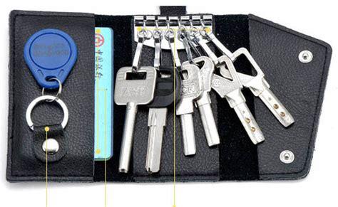 Dompet Kulit Gantungan Kunci Mobil Ysb 010 Black dompet gantungan kunci mobil purse fashion black