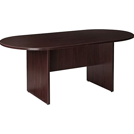 office depot conference table lorell prominence 79000 series conference table espresso