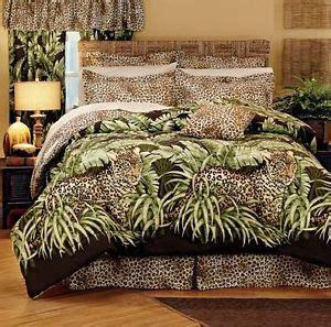 leopard print queen comforter set wild leopard cat jungle animal print comforter set