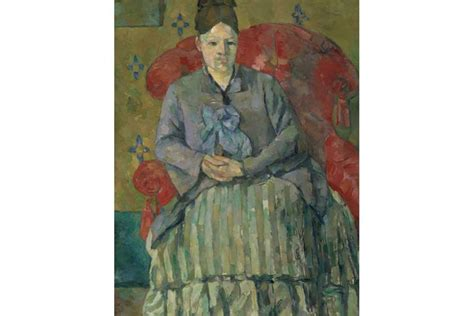 madame cezanne in a red armchair the lady vanishes madame c 233 zanne at the metropolitan