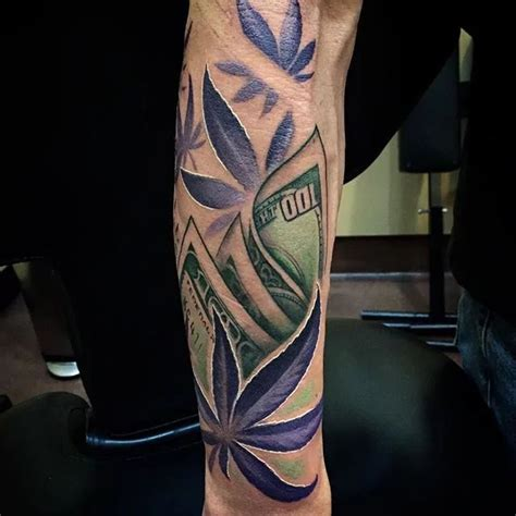 hemp tattoo the 25 best marijuana ideas on