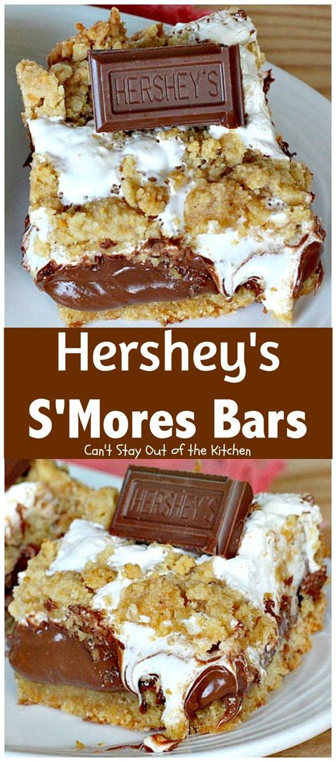 Hershey S Kitchen by Hershey S S Mores Bars Can T Stay Out Of The Kitchen These Outrageous S Comfortable