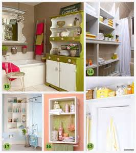 creative bathroom storage ideas diy small