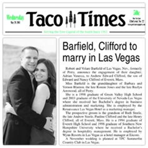 Upcoming Wedding Announcement Newspaper by All You Need To About Newspaper Wedding Announcement