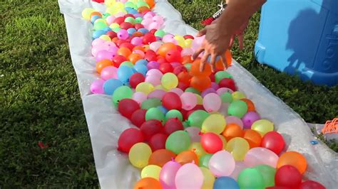 Chennai s first water balloon fight