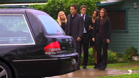 casey s funeral begins home and away 22nd september 2014