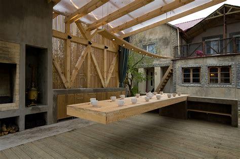 Housse Table Jardin 3799 by Kerimov Prishin Architects Arbor 15