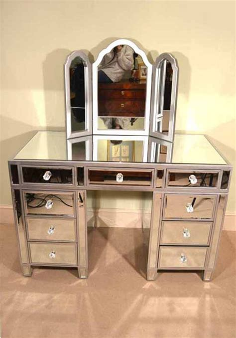 Regent Antiques   Art Deco   Art Deco mirrored furniture   Gorgeous Art Deco Mirrored Dressing