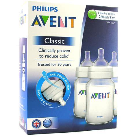 Avent Bottle Classic Kapal Blue 1m 260 Ml Botol Bayi Scf57312 avent classic 260ml 9oz bpa free pp plastic feeding