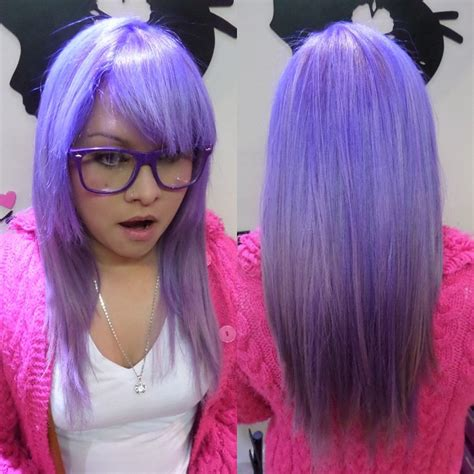 how to dye your hair neon purple 10 steps with pictures neon purple