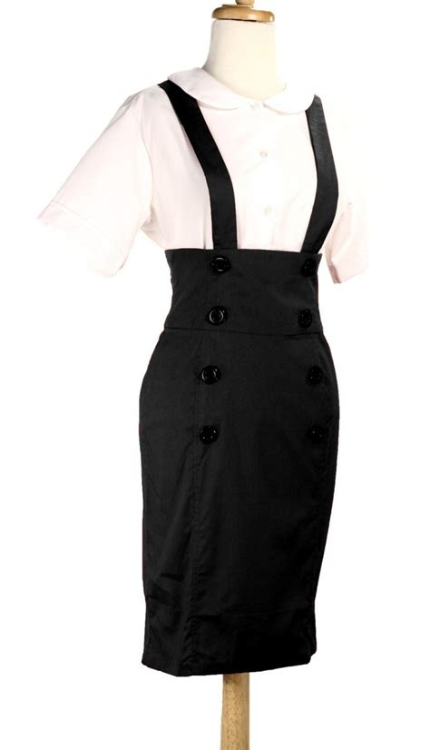 pencil skirt with suspenders dresses i d to