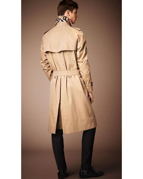 Heritage By Burberry by Burberry The Westminster Heritage Trench Coat Honey