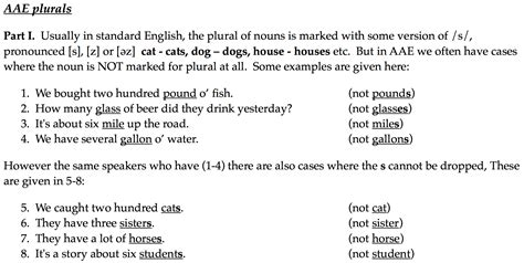 pattern form meaning what is the pattern that determines whether plural