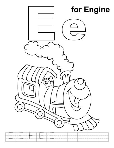 e coloring pages az coloring pages