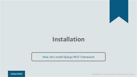 creating django api django rest framework how to create a restful api using