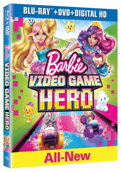 Free Video Game Giveaways - barbie video game hero blu ray dvd combo pack giveaway