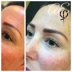 tattoo eyebrows michigan 1000 images about brow microblading on pinterest makeup