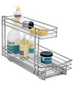 Sink Sliding Shelf Unit by Sink Organizer Slide Out Baskets Cabinet Shelves
