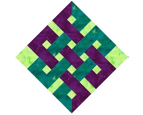 printable paper quilt patterns eternity knot paper pieced quilt block pattern pdf