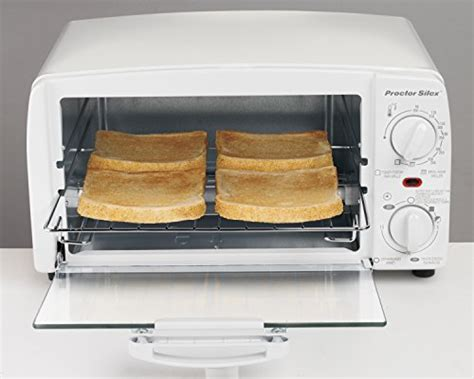 Toast R Oven Classic Countertop Ovenbroiler In White by Proctor Silex 4 Slice Toaster Oven White Import It All