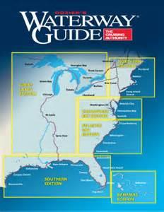 map of intracoastal waterway florida regional editions