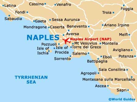 naples italy map city map of naples italy