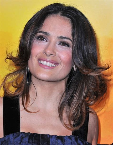 flipped up hairstyles top 26 salma hayek hairstyles pretty designs