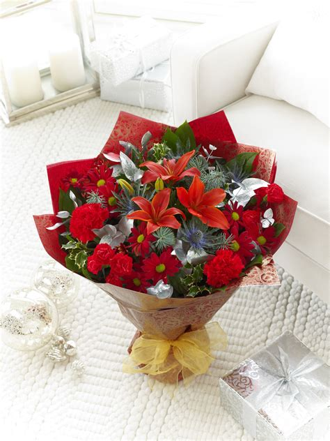 christmas flower selection now available online