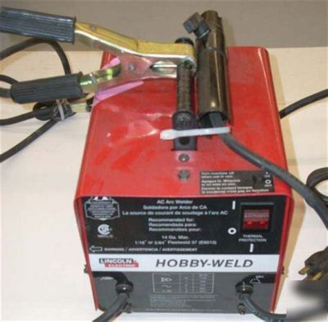 lincoln hobby welder new lincoln electric hobbyweld ac arc welder