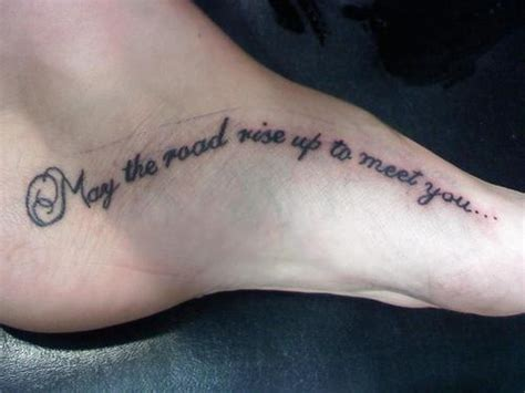 irish blessing tattoo designs i this may the road rise up to meet you may the