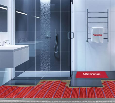 Heated Shower Floor  Systems  Wet Room Warmup Blog