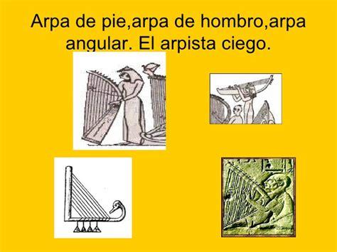 imagenes de instrumentos musicales egipcios los instrumentos musicales en egipto