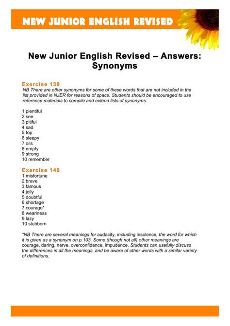 Answered Synonym / dyrevelferd.info