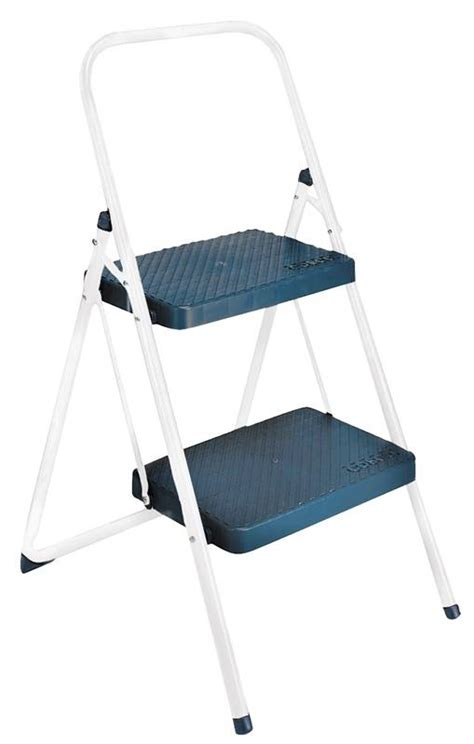 Cosco 3 Step Folding Stool by Cosco 11565cggl4 2 Step Folding Step Stool 34 646 In H X