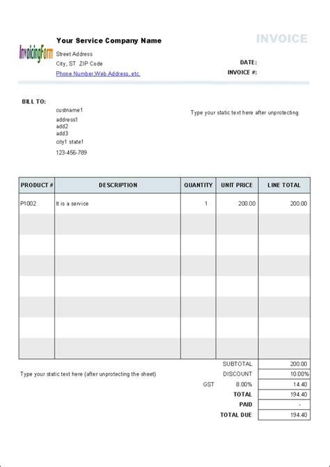 tutoring invoice template invoice template ideas