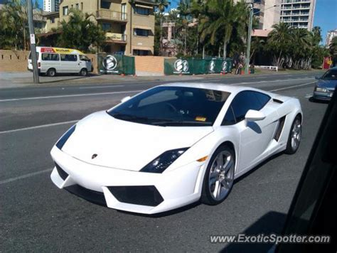 lamborghini gallardo spotted in gold coast australia on