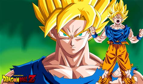 dragon ball z goku super saiyan wallpaper hd wallpaper goku super saiyan dragon ball z by